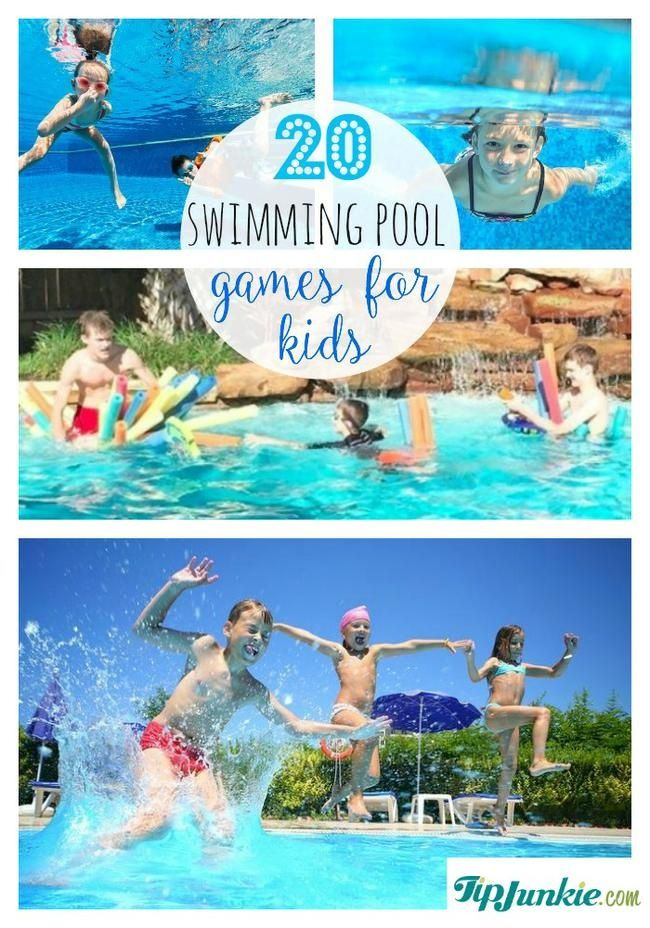 20 Fun Swimming Pool Games For Kids Pool Games Pool Games Kids Pool Activities