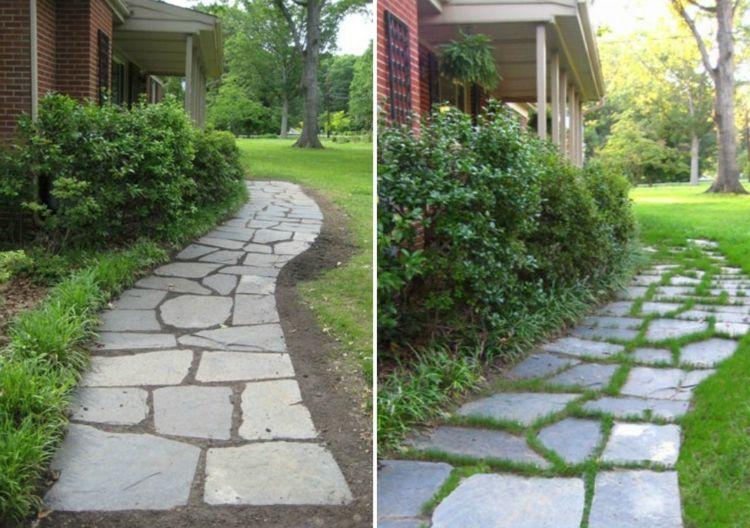 Gartenweg anlegen mit 6 verschiedenen Anleitungen anlegen ...