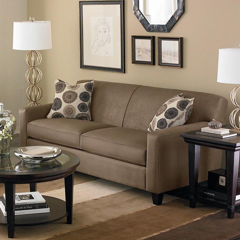 Pin By Katina Hudson On Brown Living Room Ideas Pinterest Brown Beauteous Living Room Brown Couch Minimalist