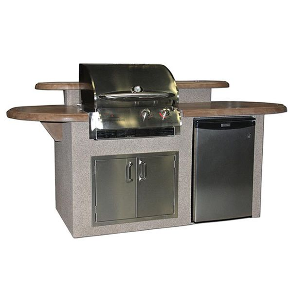 St James Grilling Island Outdoor Kitchen Island Outdoor Kitchen Outdoor Kitchen Design
