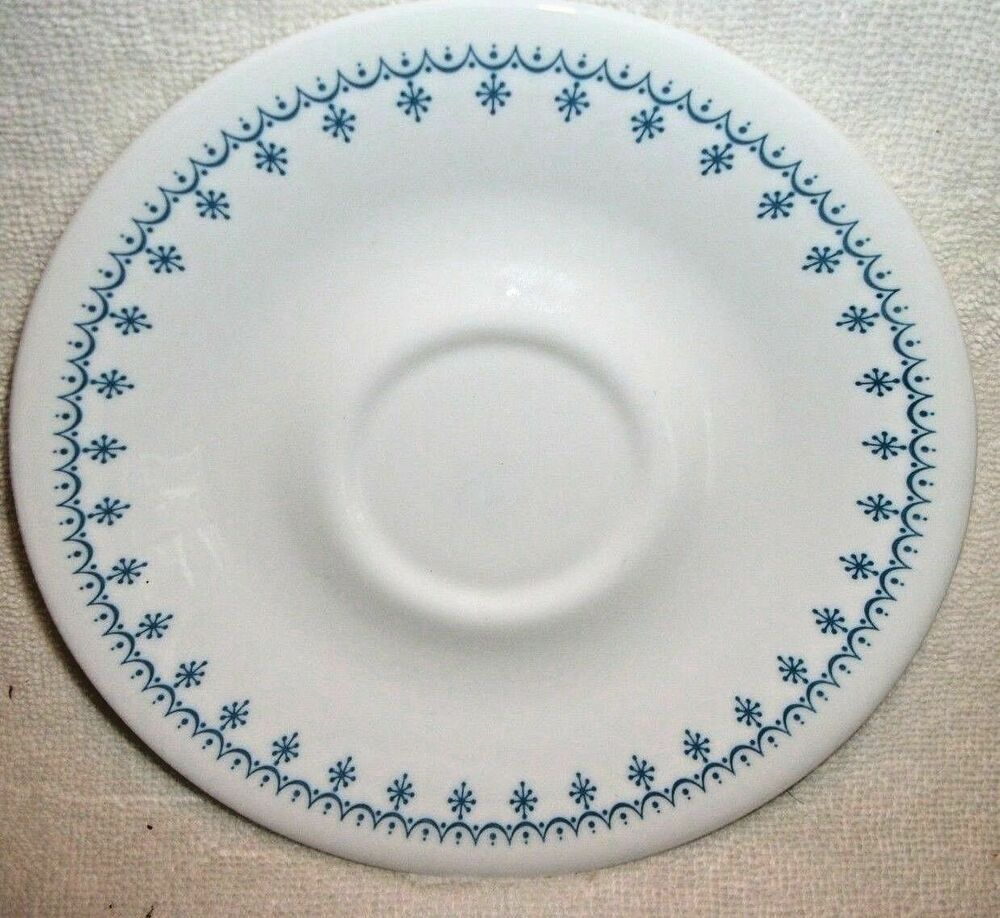 One Vintage Corning Ware Corelle Blue Snowflake Replacement