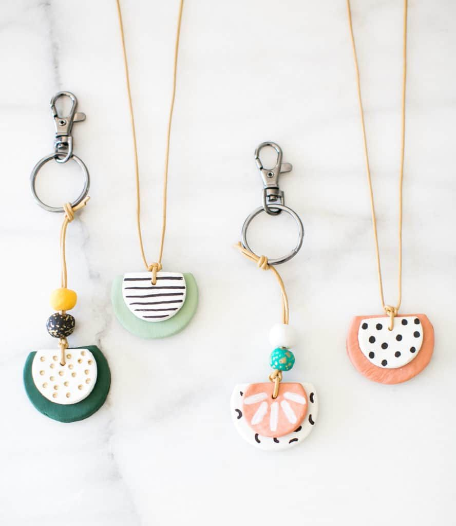 Diy Essential Oil Diffuser Necklace And Key Chain Hello Glow Clay Jewelry Diy Essential Oil Necklace Diffuser Polymer Clay Jewelry Diy
