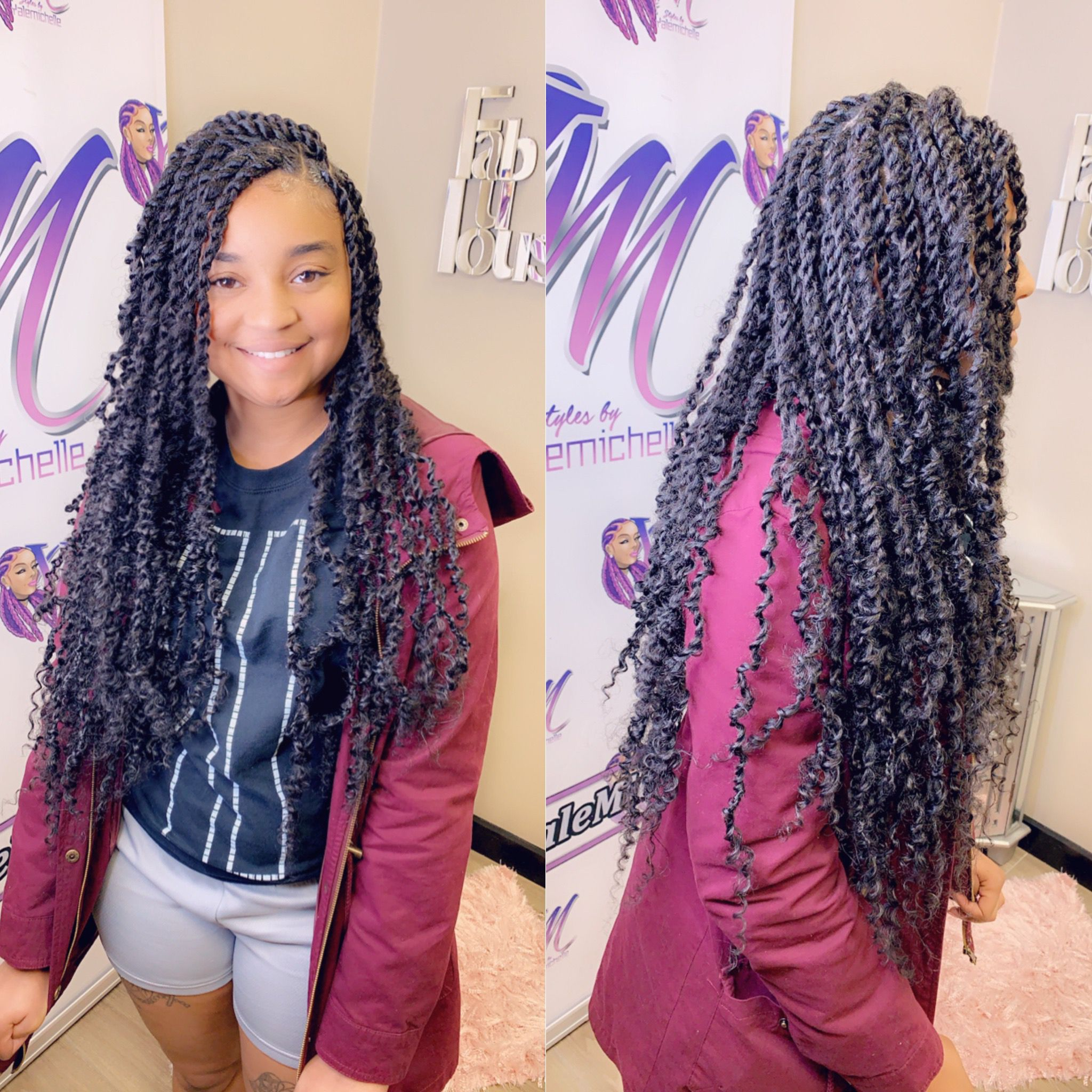 Passion Twist Competition Hair Girls Hairstyles Braids Natural Hair Styles
