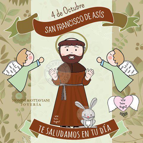 Hoy es la Memoria de San Francisco de Asís. Después de una ...