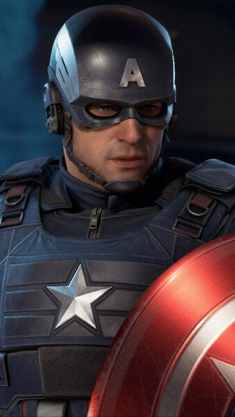 Marvel S Avengers Captain America 4k Hd Mobile Smartphone And Pc Desktop Laptop Wallpaper 3840x2160 1920x1080 216 Captain America Captain Marvel Avengers