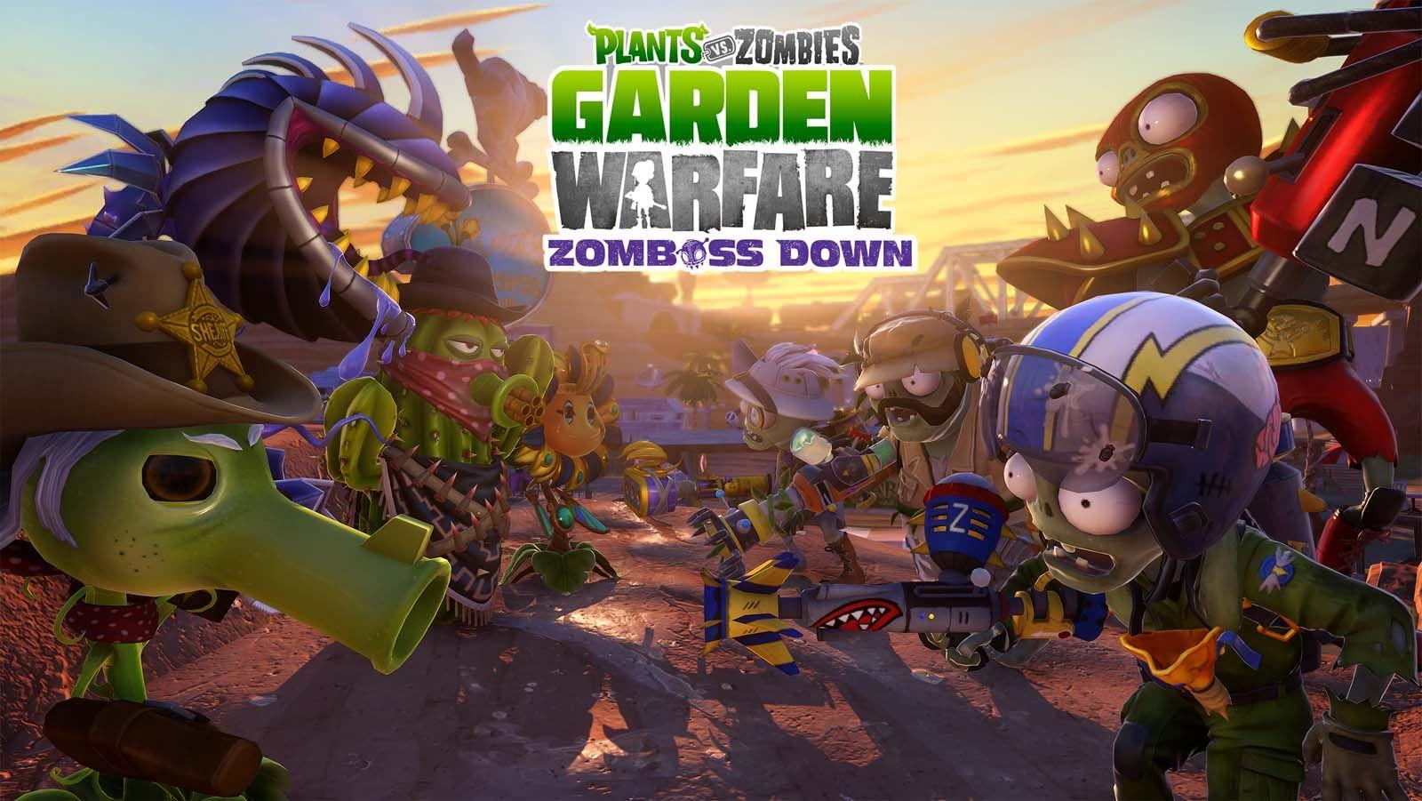 Plants vs. Zombies Garden Warfare Enters the Wild West in Free DLC ...
