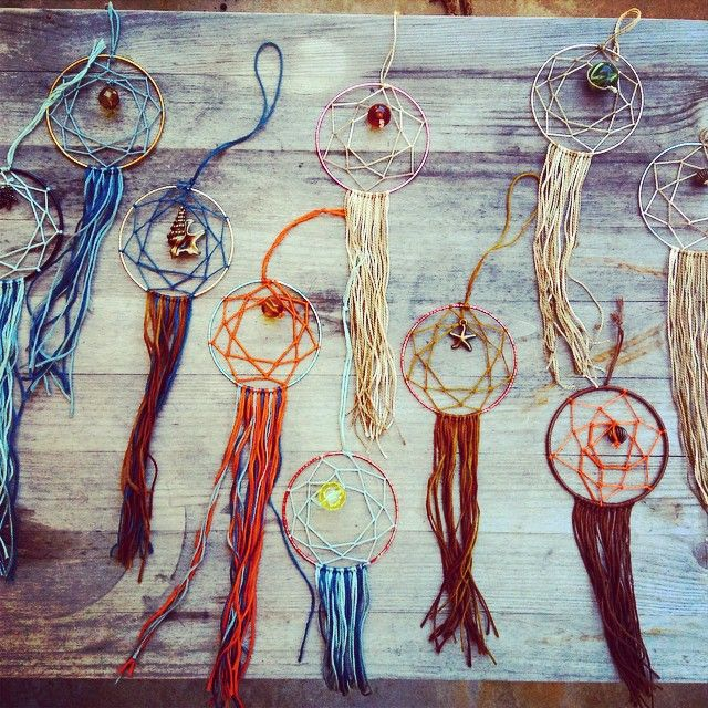 Mini Dreamcatchers by Paisley Rose
