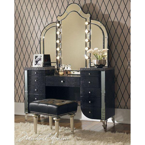 El Dorado Furniture Hollywood Swank 20 Vanity Bench Hollywood Swank Bedroom Vanity Home