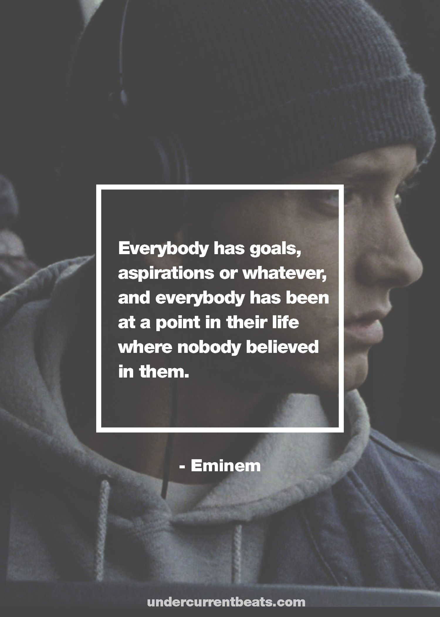 Top 8 Quotes From Eminem Photo Gallery Eminem Quotes Rapper Quotes Rap Quotes