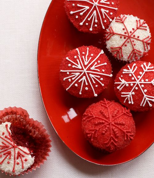 red velvet christmas cupcakes recipe