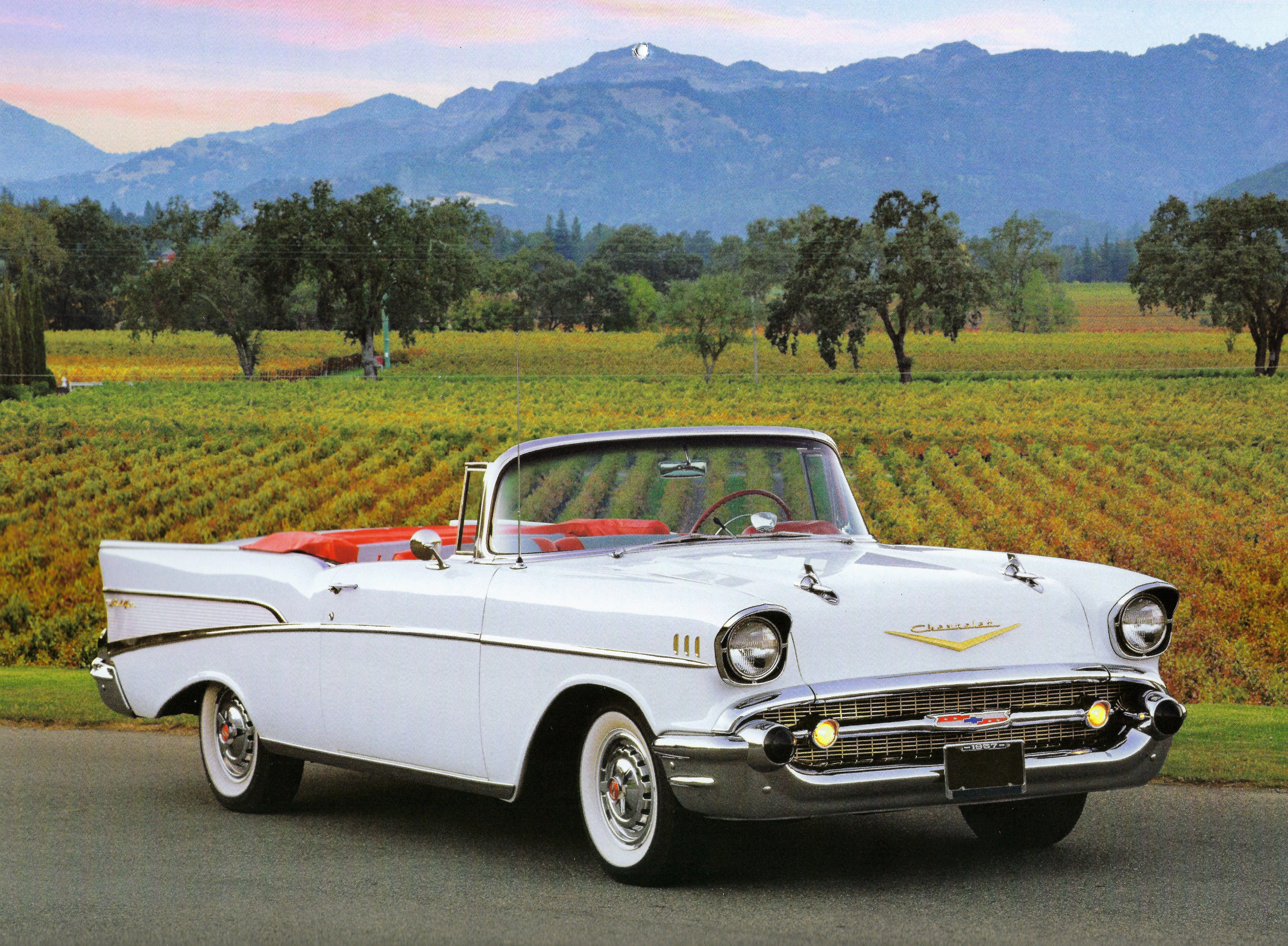 1957 Chevrolet Convertible VolkswagonClassiccars 57