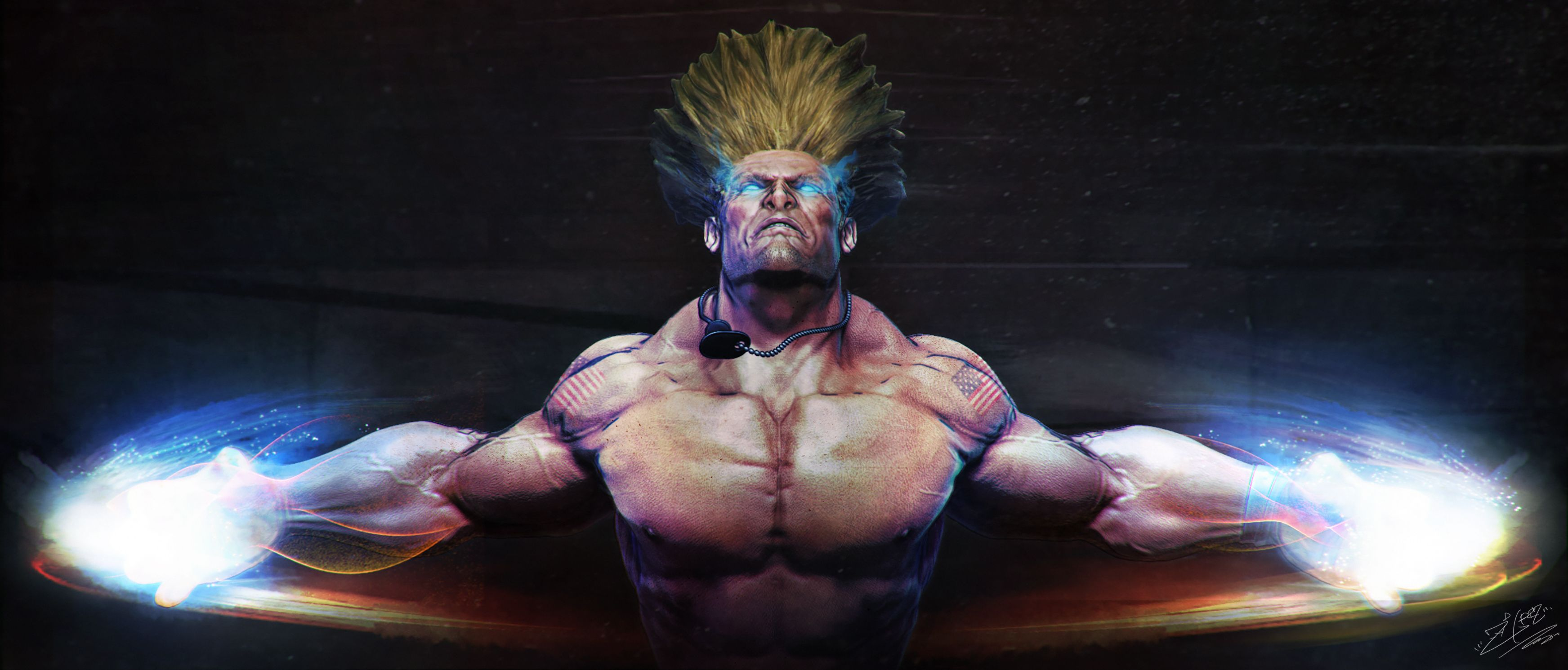 Guile Sonic Boom by Callen Desmond Characters