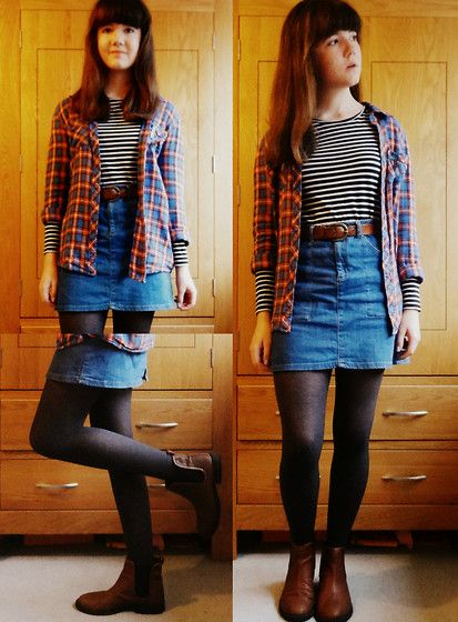 Wear a Mini Skirt | Best Denim mini skirt, Short skirts and Mini ...