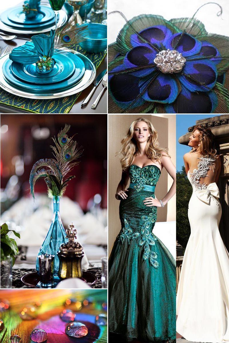 Purple Peacock Wedding Theme