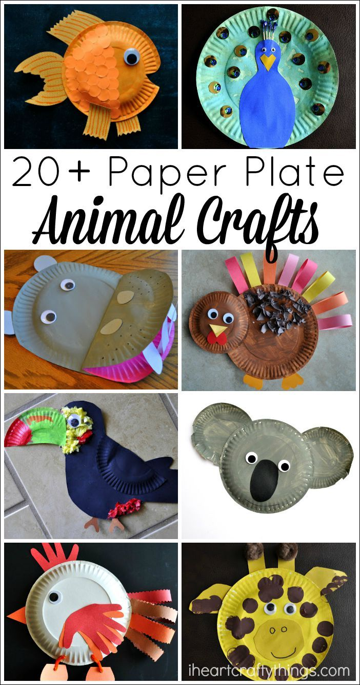 20 Paper Plate Animal Crafts For Kids Craft For Kids Animal