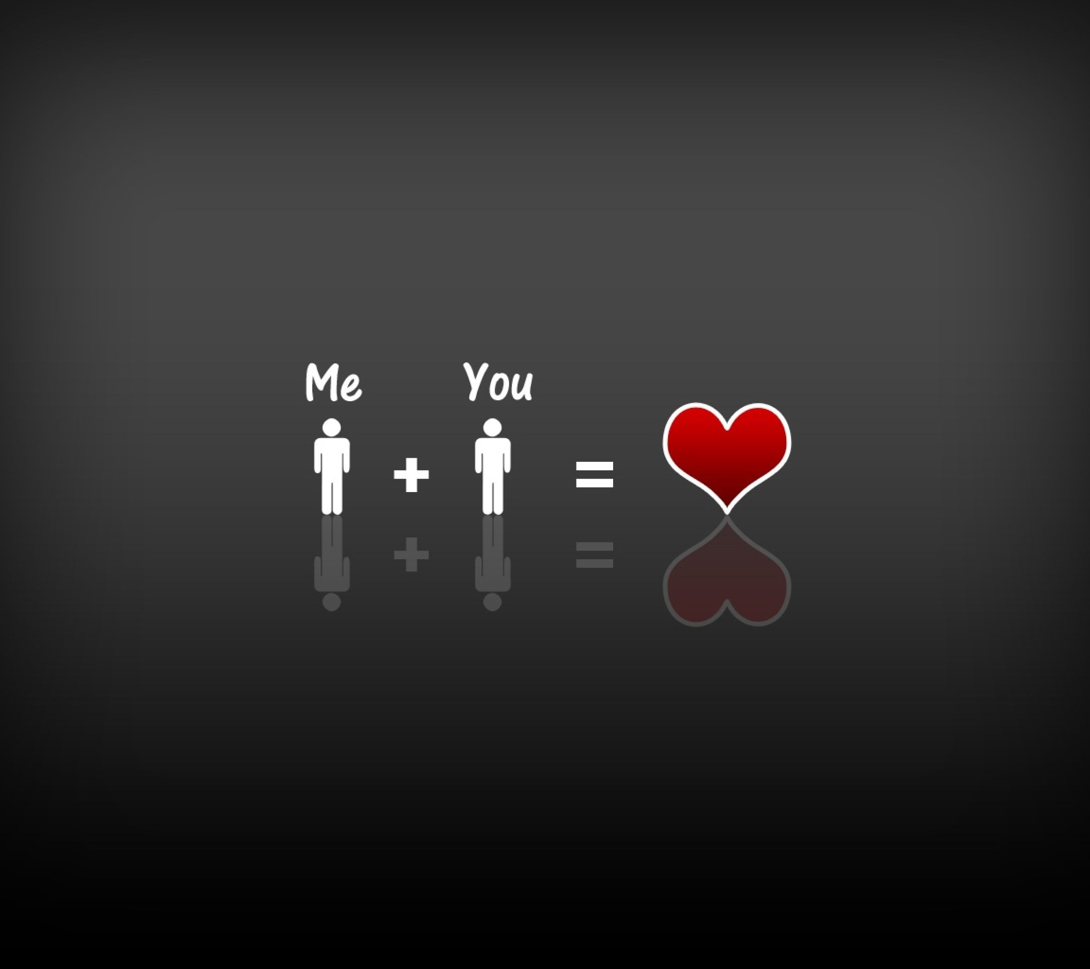 Me Plus You Tap To See More Love Love More Love Wallpapers Mobile9 Love Wallpaper Wallpaper Quotes Love Couple Wallpaper
