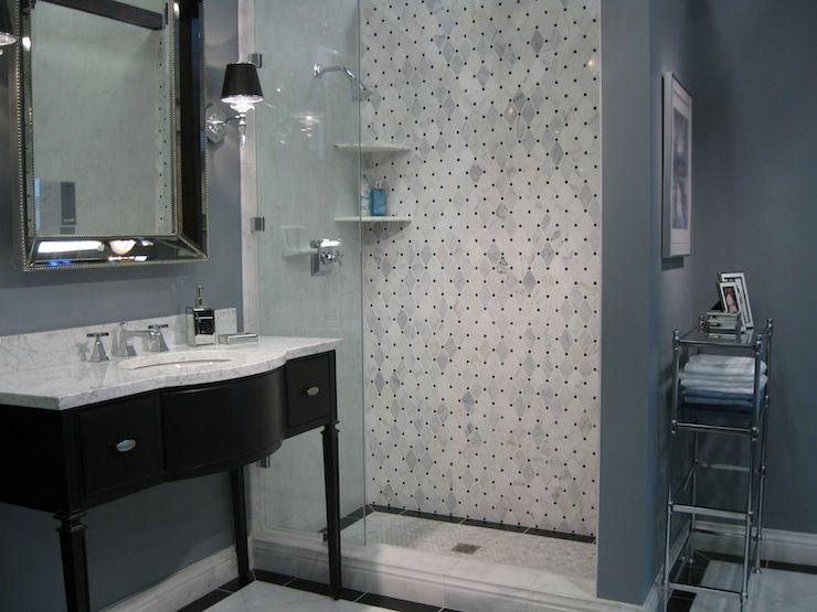 Tile From The Tileshopcom Chic Black Bathroom Vanity Sink Beveled - Blue grey bathroom vanity