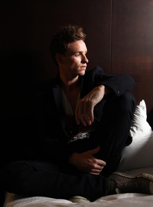 Eddie Redmayne, he is beautiful in his unique way and can sing too.