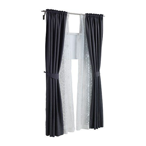 Ikea Us Furniture And Home Furnishings Lace Curtains Living