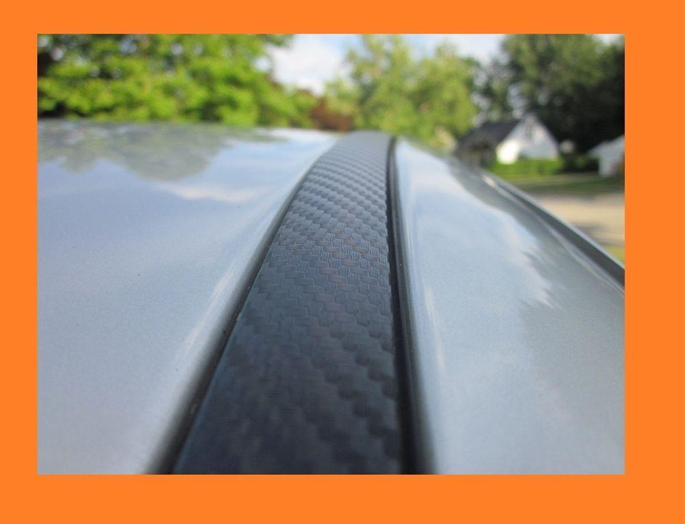 Carbon Fiber Side Roof Molding Trim 2pc For Toyota Models