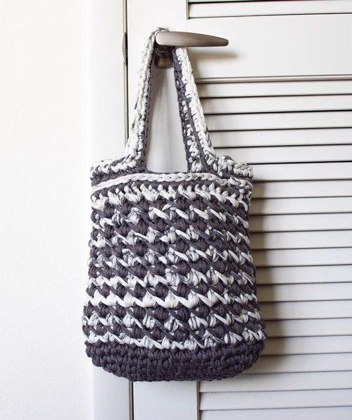 ganxxet fabric yarn handbag   FABRIC YARN PATTERNS AND IDEAS