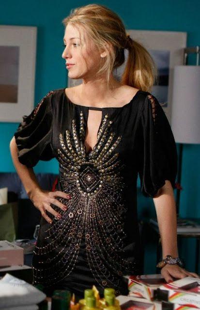 She's wearing: * Nanette Lepore Darjeeling silk dress