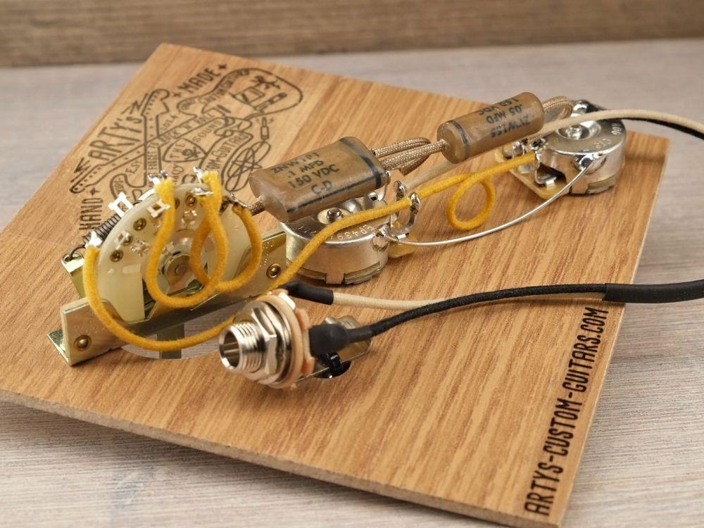 TE 1953-65 Dark Circuit Blackguard Vintage Prewired Kit Prewired