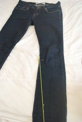 Merricks Art: A Skinny Jean Is Born: Tutorial