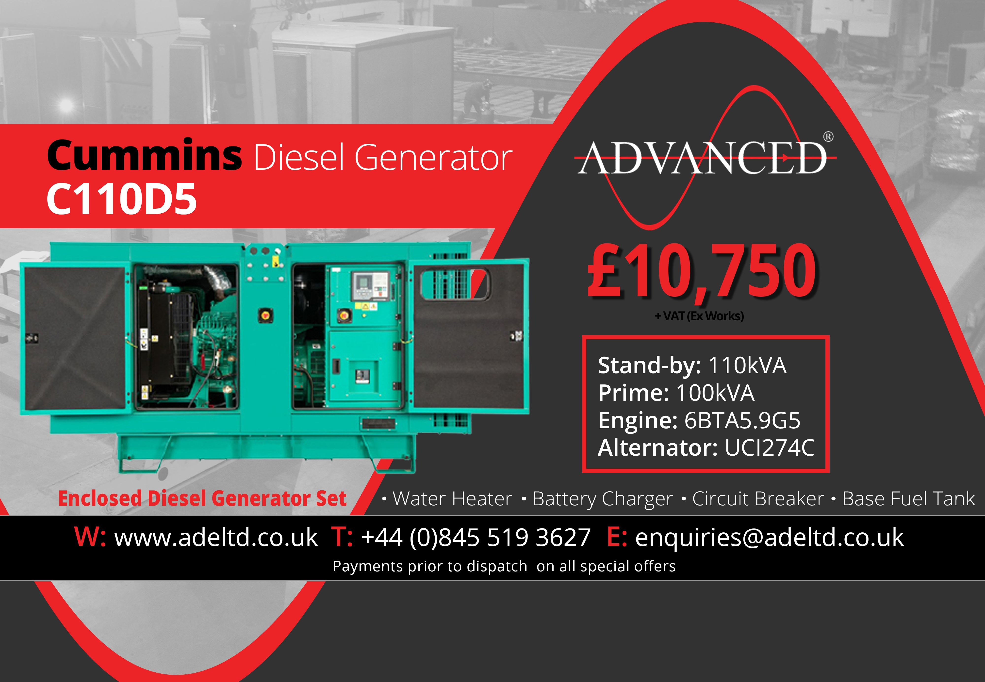 medium resolution of advanced are a leading uk supplier of diesel generators and complete power generation solutions as well as manufacturers of bespoke generator enclosures