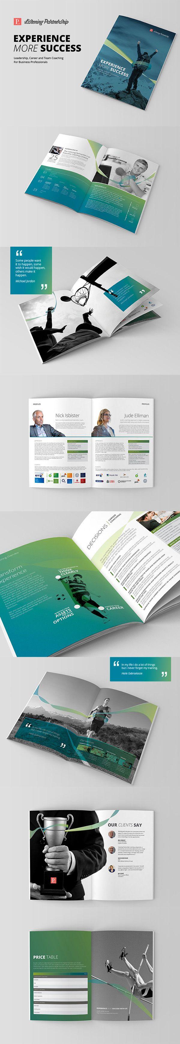 Listening Partnership Profile by Tony Huynh, via Behance