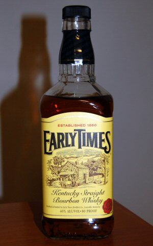 Early Times Whiskey Bourbon Drinks Mother Milk