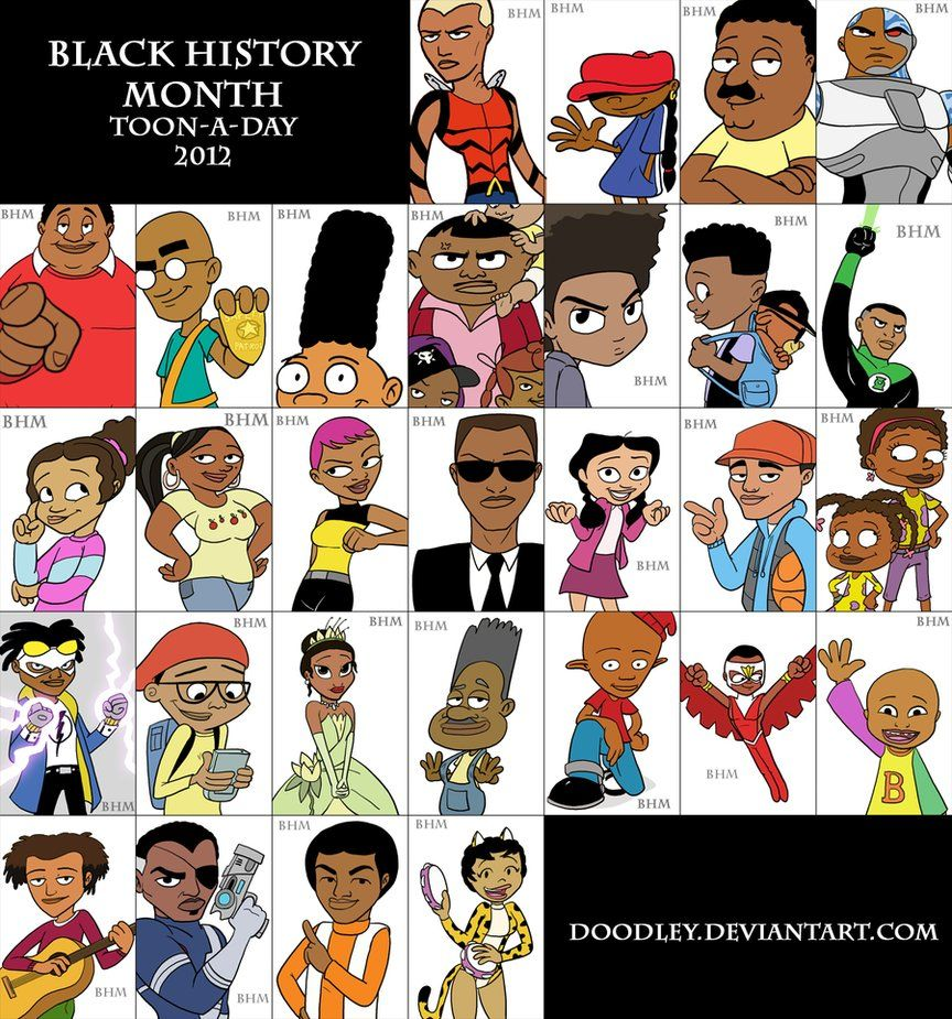 4 Popular Cartoon Characters With Dark Pasts : Black history month google search