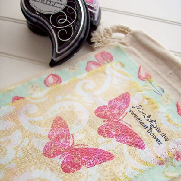 Stamp on fabric {light bulb moment} | fabric stamping and coloring ...