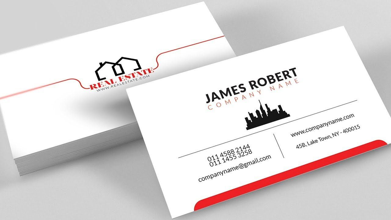 Clean Illustrator Business Card Design With Free Template Download In Visiting Business Card Templates Download Business Card Template Psd Vector Business Card
