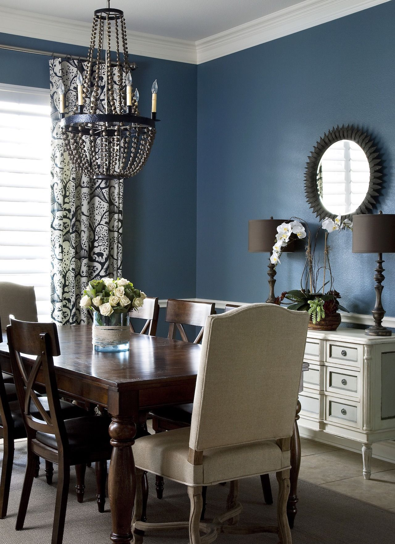 Best Colors For Dining Room Drama Midnight Skythese Bold Paint