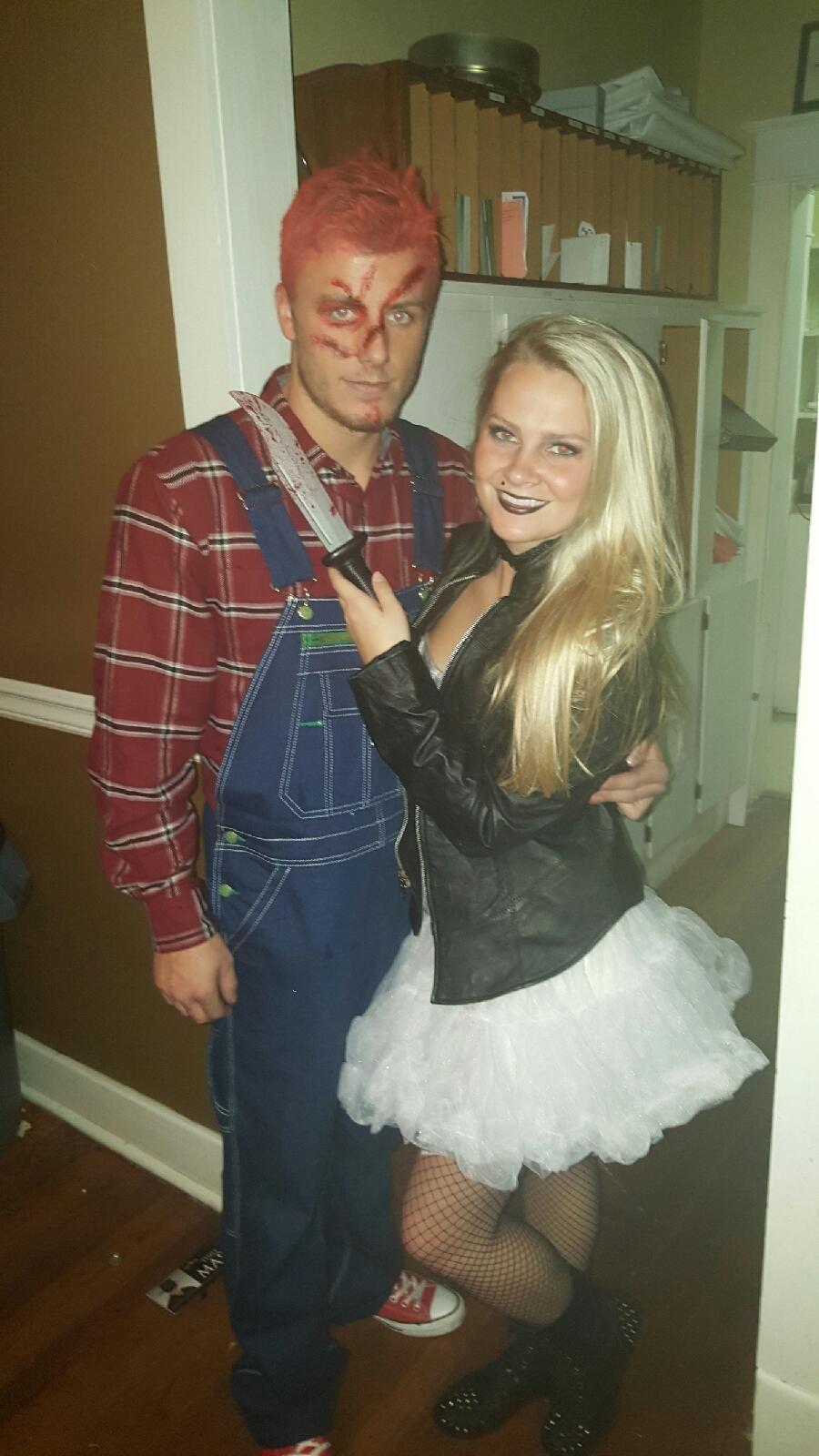 couples halloween costume chucky and bride halloween