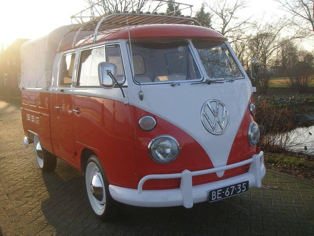 Vw T1 Pritsche 1 6 Doppelkabine Vw T1 Volkswagen Transporter Volkswagen