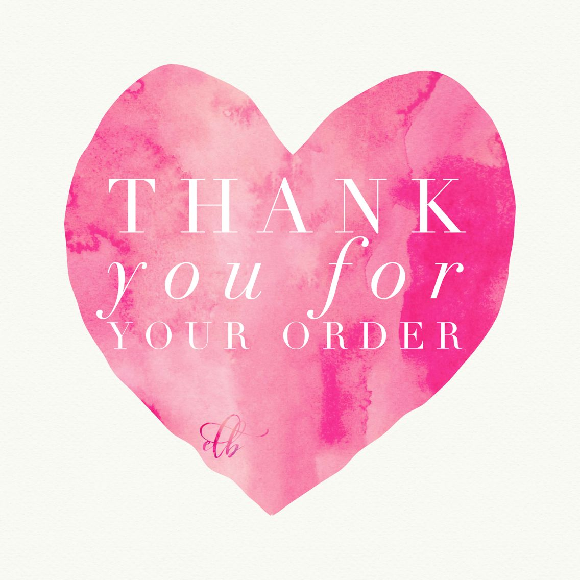 Thank You For Your Order Color Street Nails Packaging Stamps