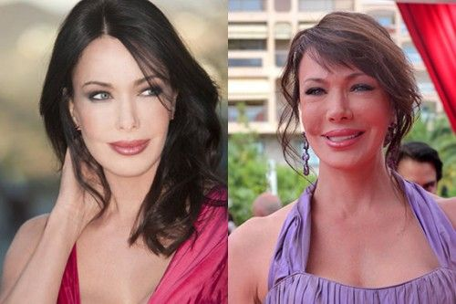 Hunter Tylo Plastic Surgery Before and After Pictures - Celebrity Plastic Surgery | Celebrity plastic surgery, Plastic surgery, Plastic surgery photos