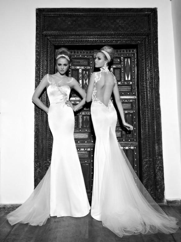 9 Sexy Backless Brautkleider und Abendkleider für 2013   WEDDING ...