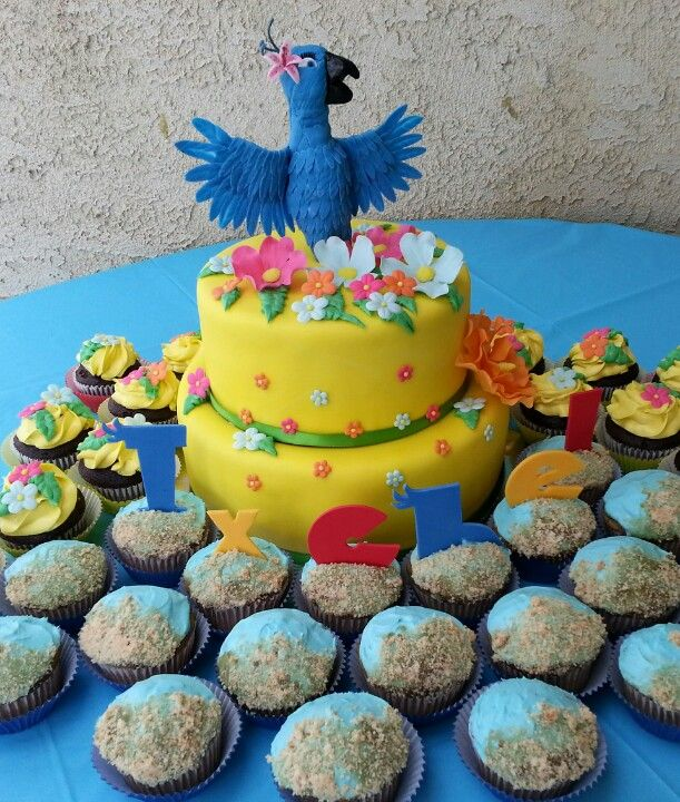 Rio The Movie Theme Birthday 323.821.4808 Ontario, CA | Baking Fun ...