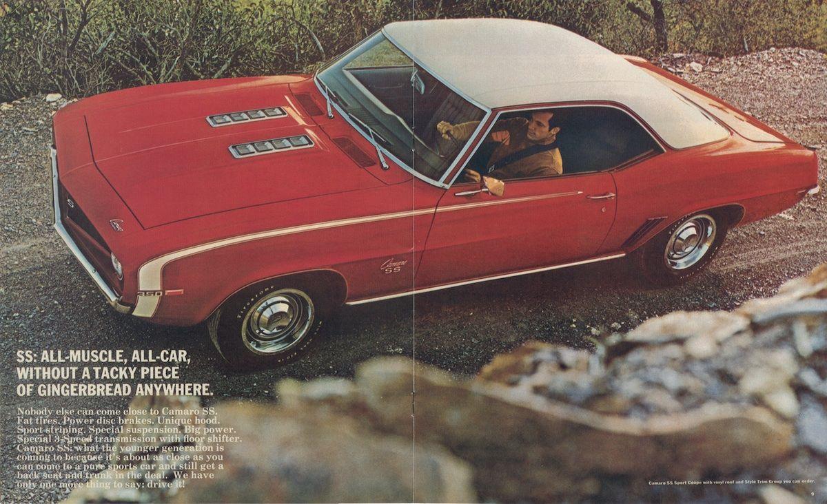 GM 1969 Chevy Camaro Sales Brochure