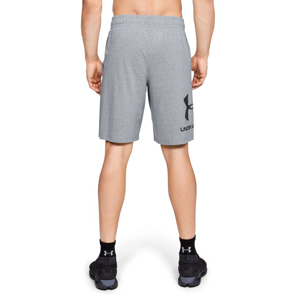 Under Armour Mens Sportstyle Cotton Graphic Navy MD