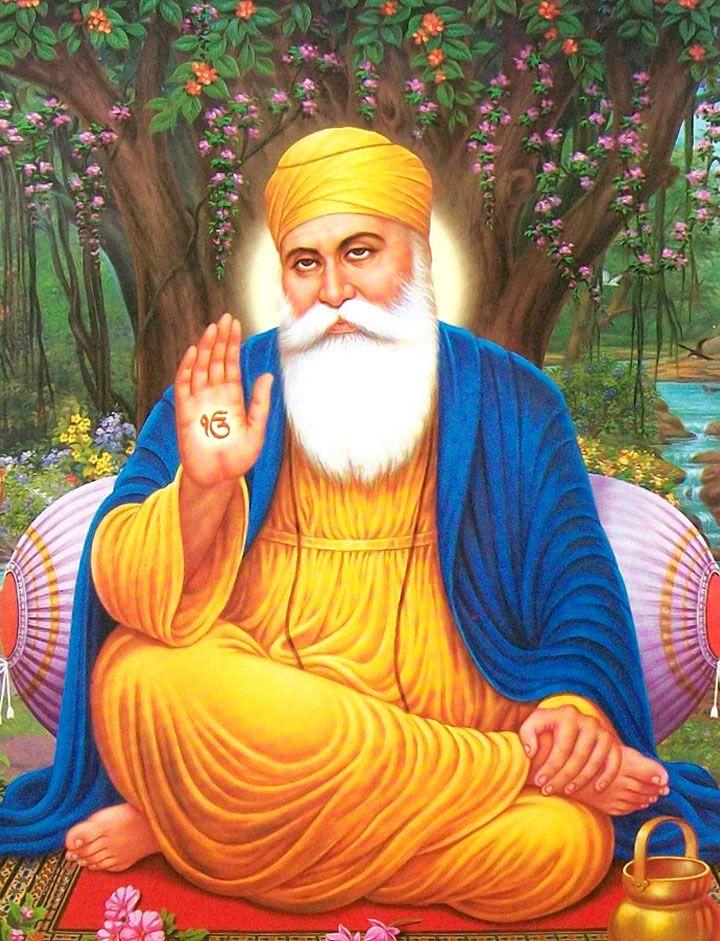 Sikh Guru Wallpaper - WallpaperSafari | Adorable ...