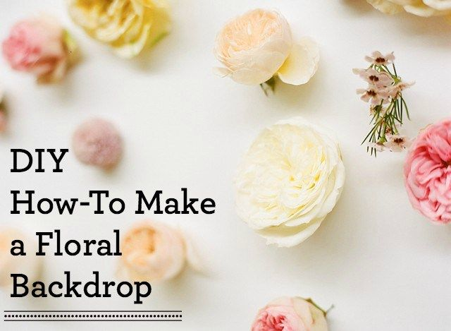 Inspiration how to make a floral backdrop floral wall do it yourself floral wall floral backdrop whole sale flowers 1 solutioingenieria Image collections
