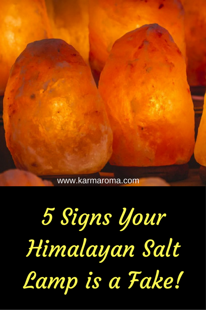 What Are Salt Lamps Good For Beauteous 5 Signs Your Himalayan Salt Lamp Is A Fake  Himalayan Salt Review