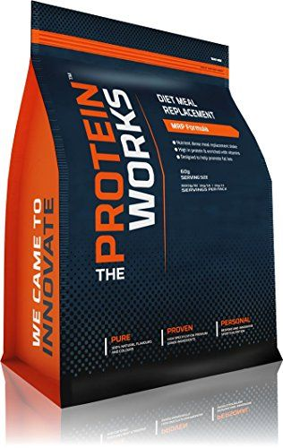 The Protein Works Diet Meal Replacement Protein Shake Caramel