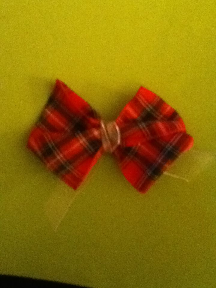 Made a bow
