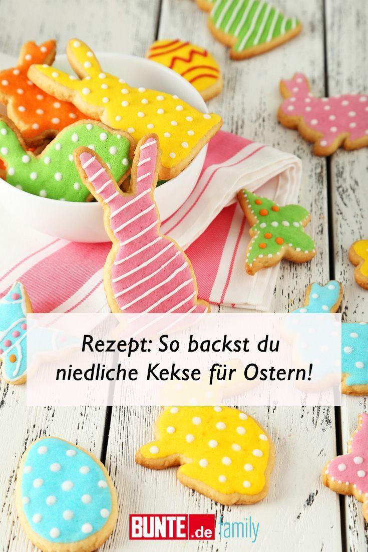 Osterplätzchen: Rezept - So backen Sie niedliche Kekse für Ostern