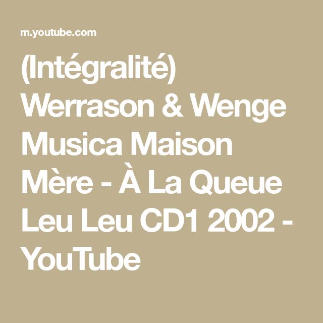 (Intégralité) Werrason & Wenge Musica Maison Mère À La